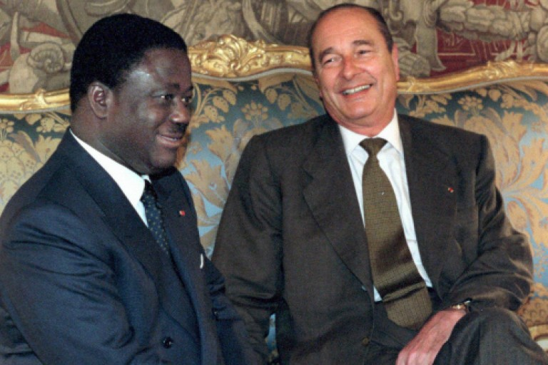 Décès de l'ex-président français  : Bédié: «Chirac m'a sauvé la vie»