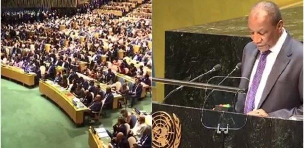 Une salle comble lors du discours d'Alpha Condé à l'ONU ? Pas vraiment.......