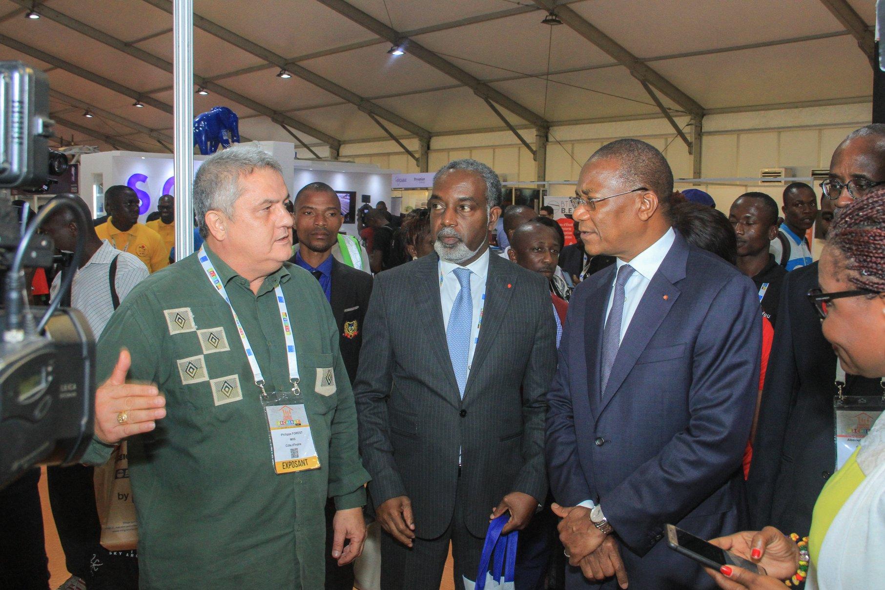 Archibat 2019: Plus de 30000 visiteurs venus toucher les réalités du BTP en Côte d'Ivoire