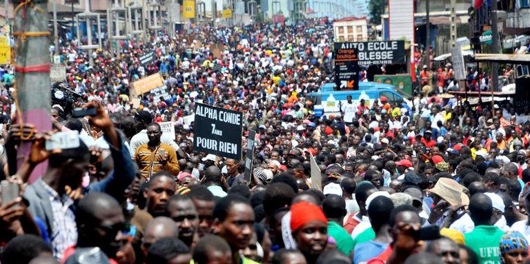 3e mandat d'Alpha Condé: L'opposition prévoit une grande marche le 14 octobre