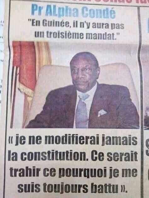 Crise en Guinée : Le front anti Condé saisit la communauté internationale
