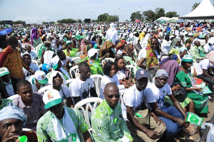 En meeting à Yamoussoukro : Le Pdci gagne le pari de la mobilisation