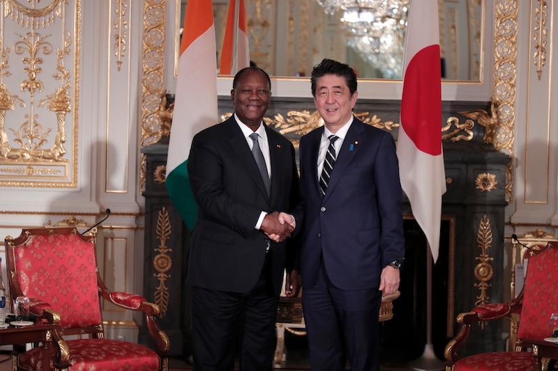 Les entretiens du Chef de l'Etat à Tokyo