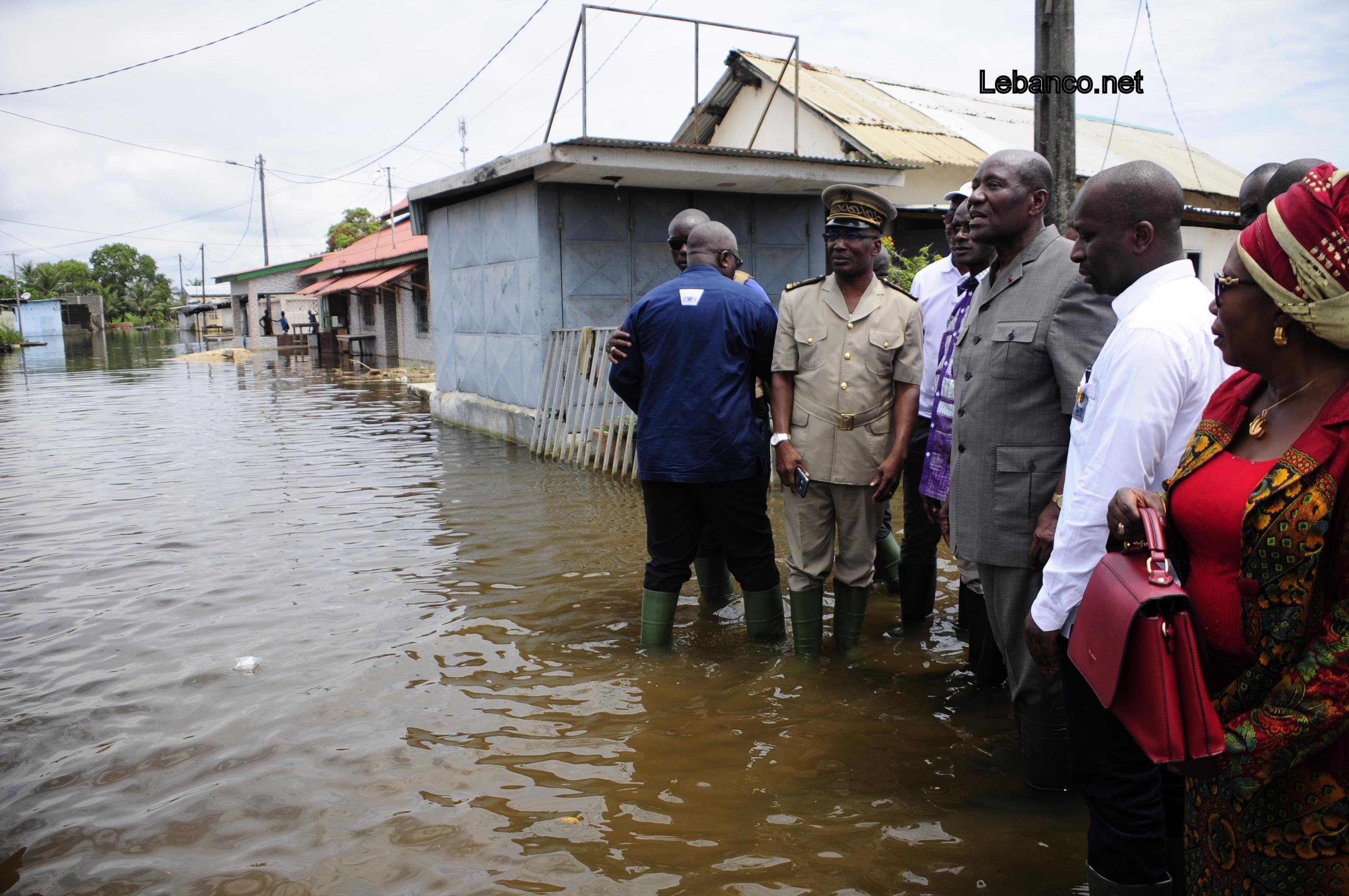 Inondations à Grand-Bassam : Des voleurs pillent les maisons abandonnées des sinistrés