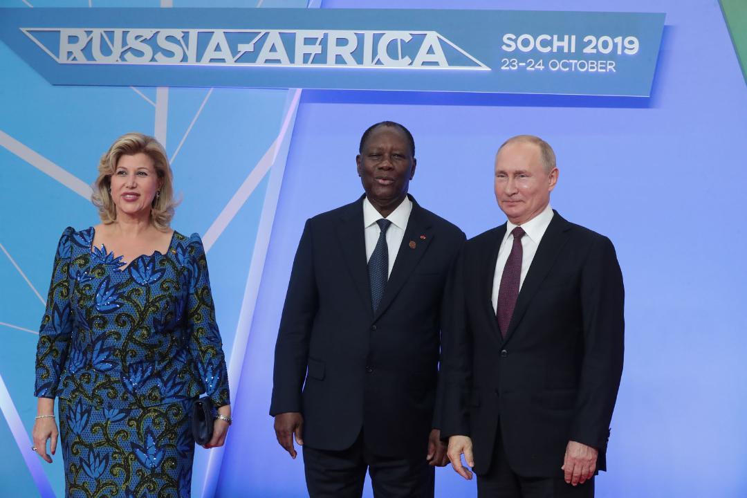 Sommet de Sotchi :   Poutine déplore le faible niveau des échanges entre l'Afrique et la Russie