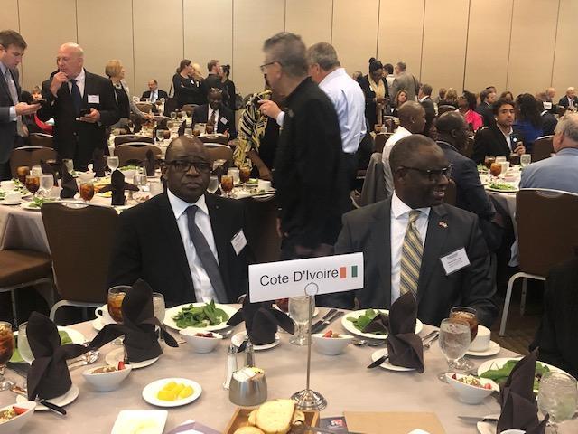 L'Ambassadeur Haidara Mamadou vend la destination Côte d'Ivoire au Forum Discover Global Market