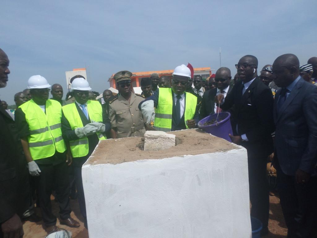 Korhogo  :Lancement  des travaux  d'extension de l'aérogare  devant  accueillir des avions gros porteurs  Boeing 737  et Air  bus A 320.