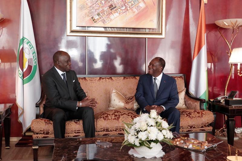 Le Chef de l'Etat a échangé avec l'Ambassadeur du Sénégal en Côte d'Ivoire