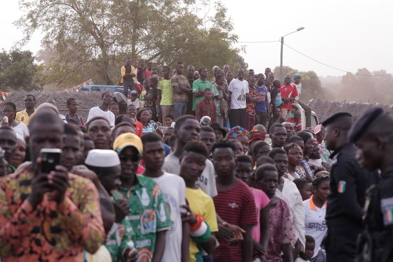 Meeting de Dabakala : Ouattara marque des points chez Billon