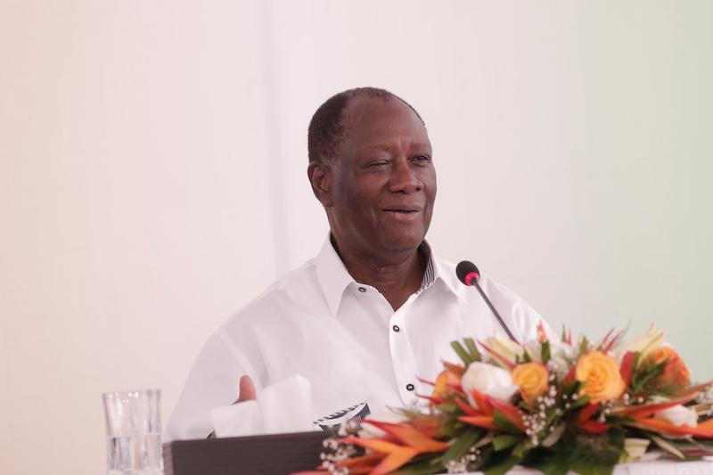 En meeting à Katiola  : Alassane Ouattara :«Si ceux de ma génération décident d'être candidat, alors je serai candidat»