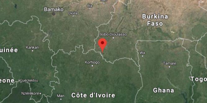 Au Burkina Faso le poste de police de Yendéré à la frontière avec la Côte-d'Ivoire attaqué