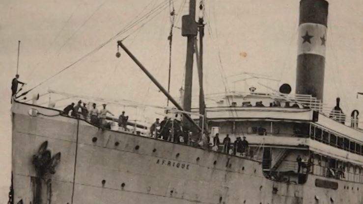 Il y a cent ans, trois jours après avoir quitté Bordeaux, le paquebot Afrique sombrait dans l'Atlantique