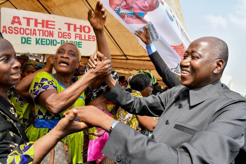 Hommage : Gagnoa reconnaissant au Président Alassane Ouattara pour la Loi d'amnistie ayant gracié 800 prisonniers de la crise post-electorale