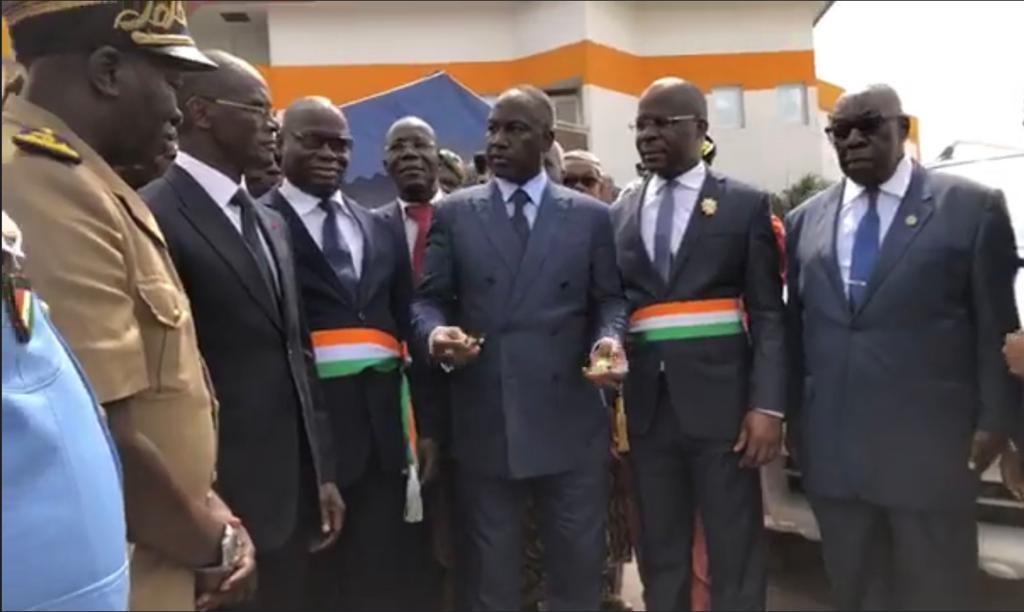 Région Agneby-Tiassa : Trois nouveaux véhicules aux commissariats