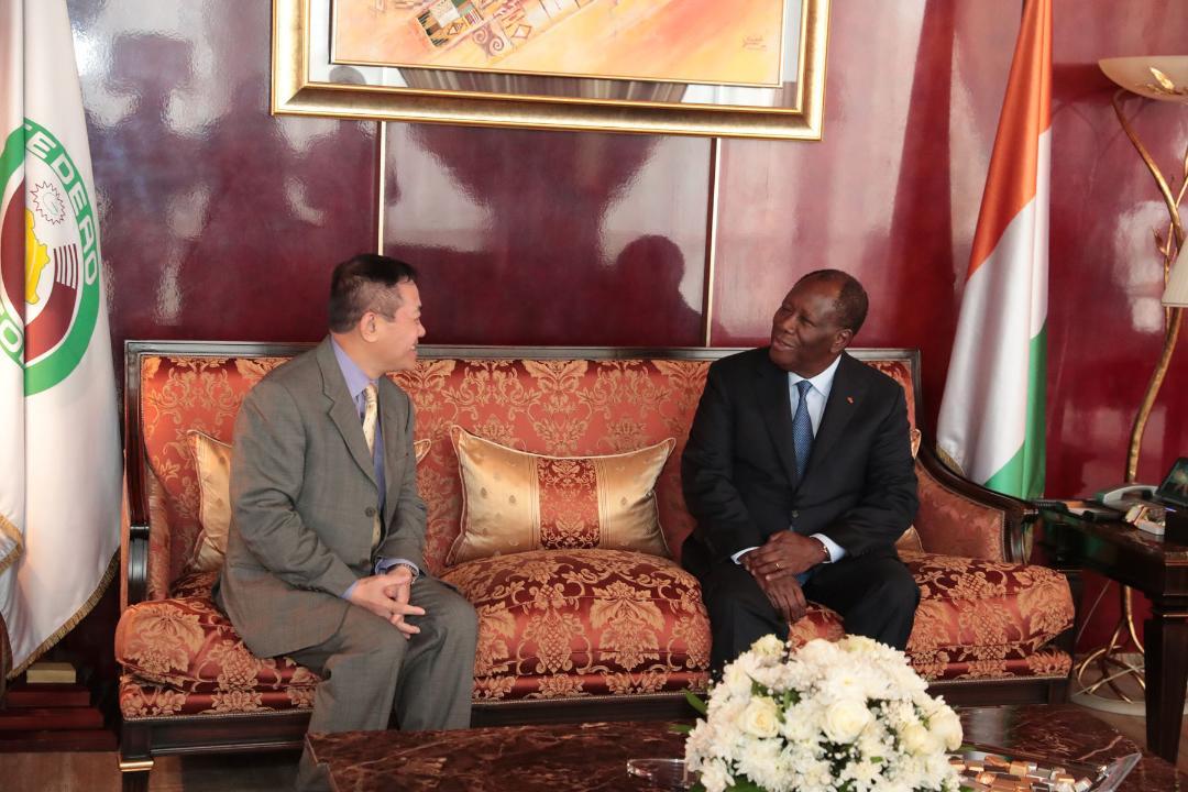 Le Chef de l'Etat a eu un entretien avec l'Ambassadeur du Vietnam en Côte d'Ivoire