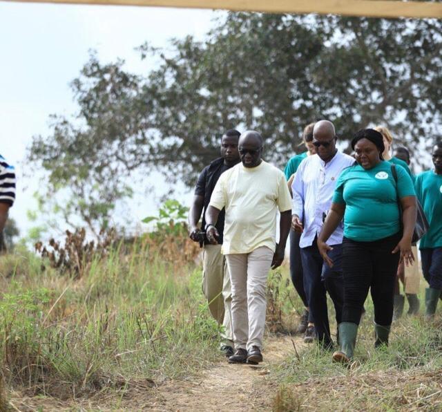 Entrepreneuriat: Amon-Tanoh visite des femmes entrepreneuses agricoles de Toumodi.